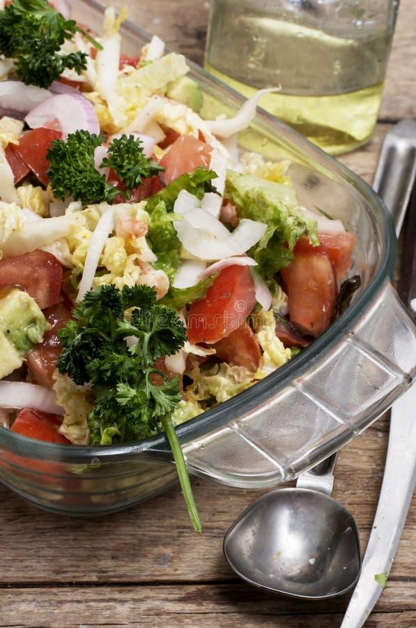 Download Ensalada De Verduras Frescas Foto de archivo - Imagen de vitamina, tomate: 42431410