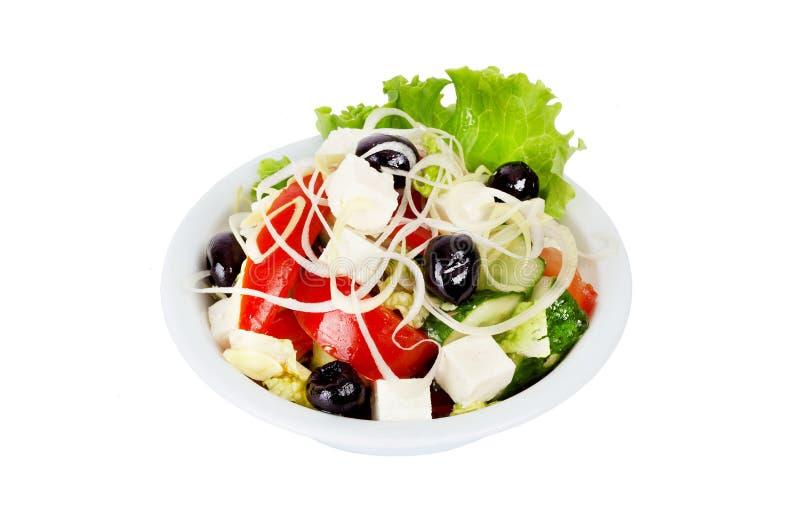 Download Ensalada griega imagen de archivo. Imagen de alimento - 44851363