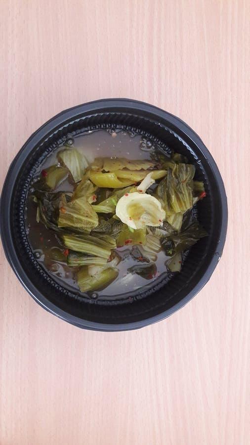 Ensalada tailandesa del vegetaber imágenes de archivo libres de regalías