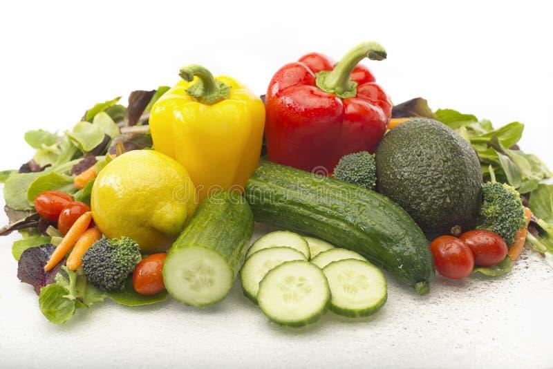 Ensalada vegetal imagen de archivo