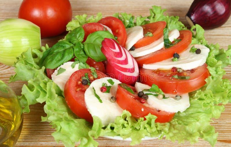 Ensalada vegetariana fotografía de archivo libre de regalías