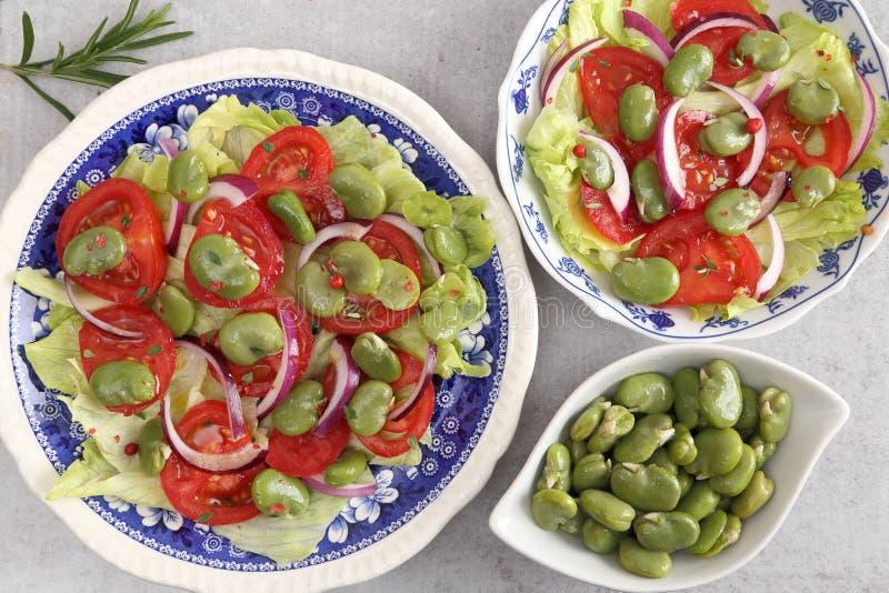 Ensalada vegetariana imagen de archivo libre de regalías