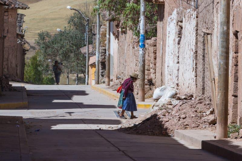 Ensam gata i Maras arkivfoton