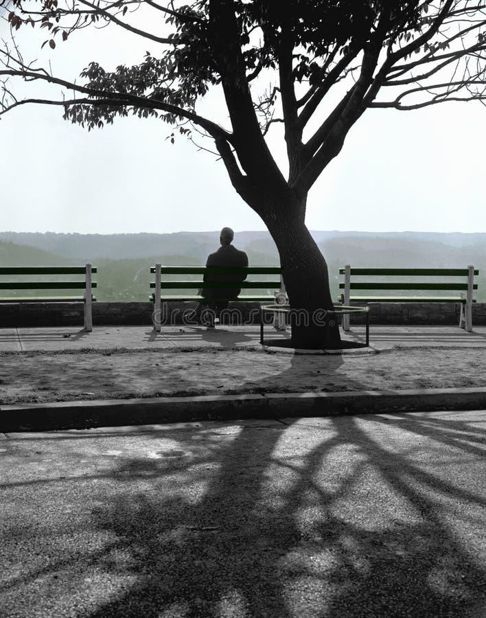 ensamhet arkivbilder