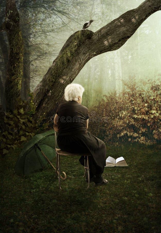 Ensamheten royaltyfri foto