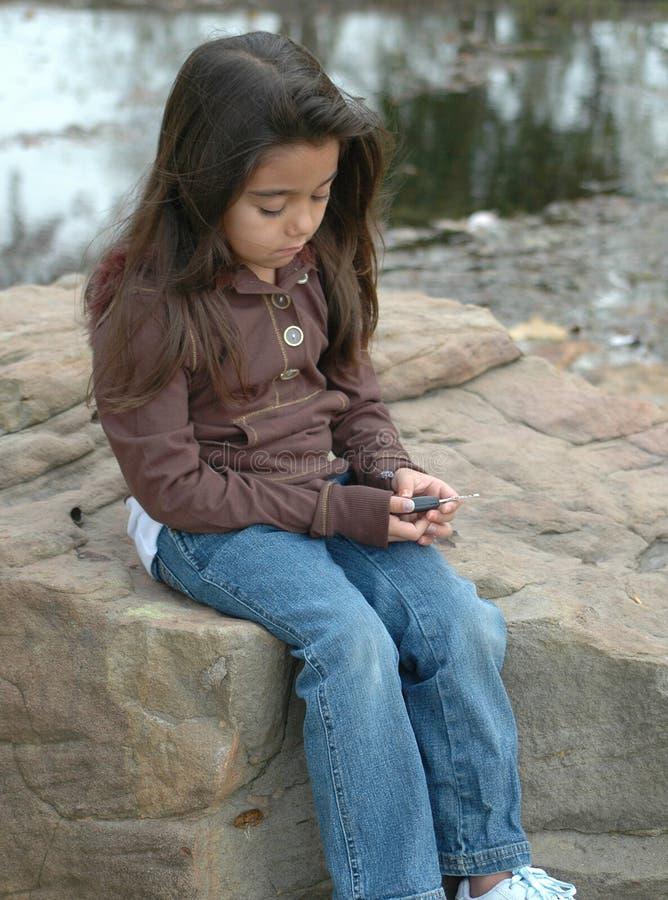 ensamt barn fotografering för bildbyråer
