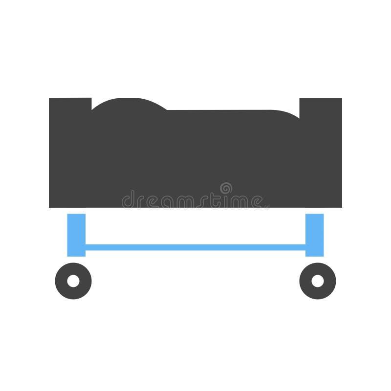 Ensanchador, ambulancia, médica stock de ilustración