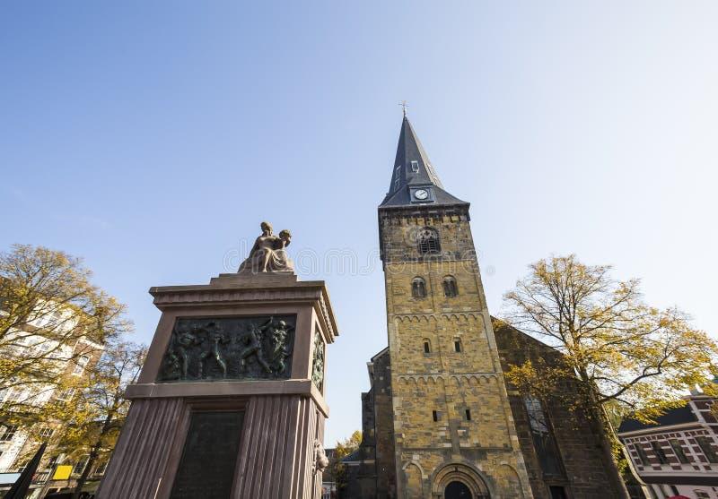Enschede-Stadt in den Niederlanden lizenzfreies stockbild