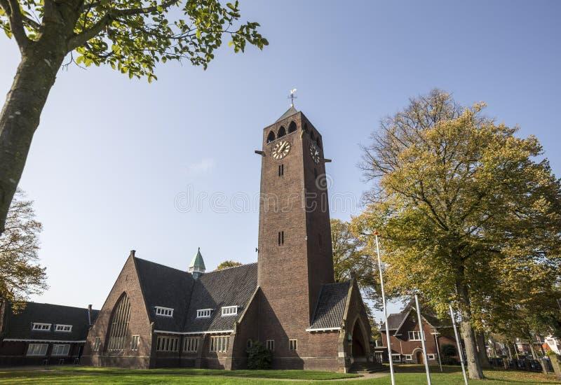Enschede-Stadt in den Niederlanden stockfotografie
