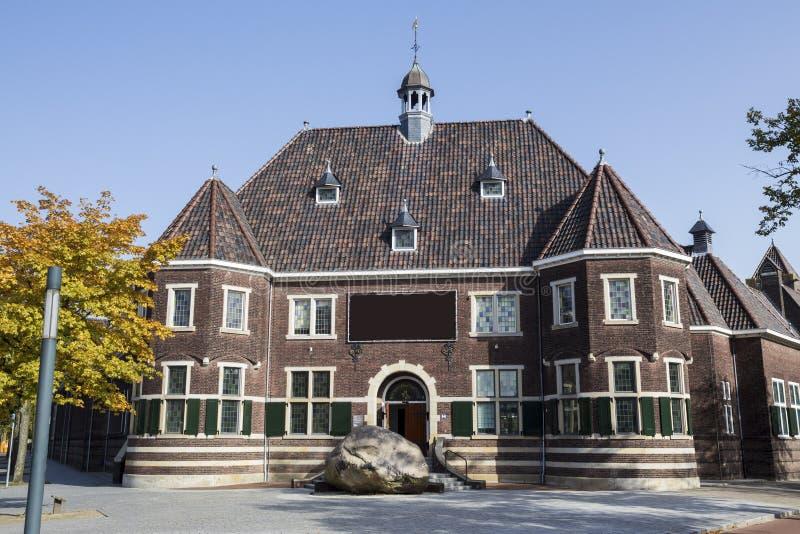 Enschede-Stadt im niederländischen rijksmuseum stockfoto