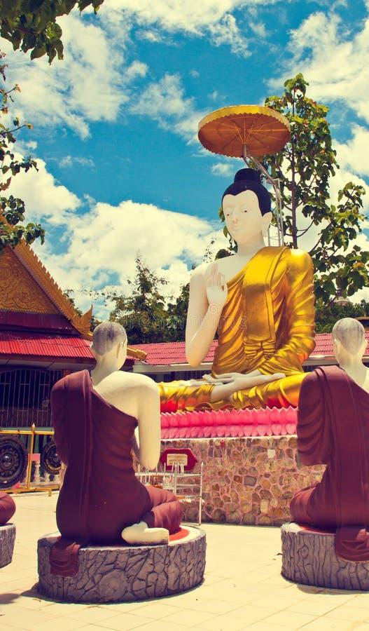 Enseñanza de Dharma imágenes de archivo libres de regalías