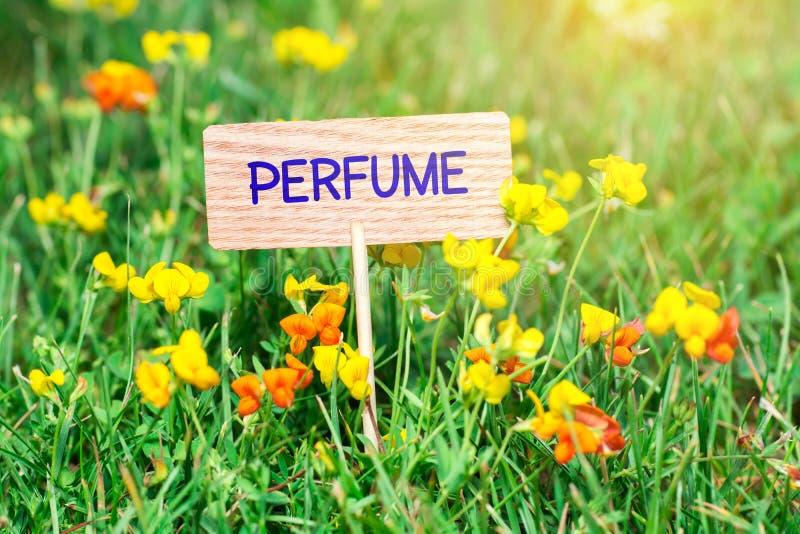 Enseigne de parfum photo libre de droits