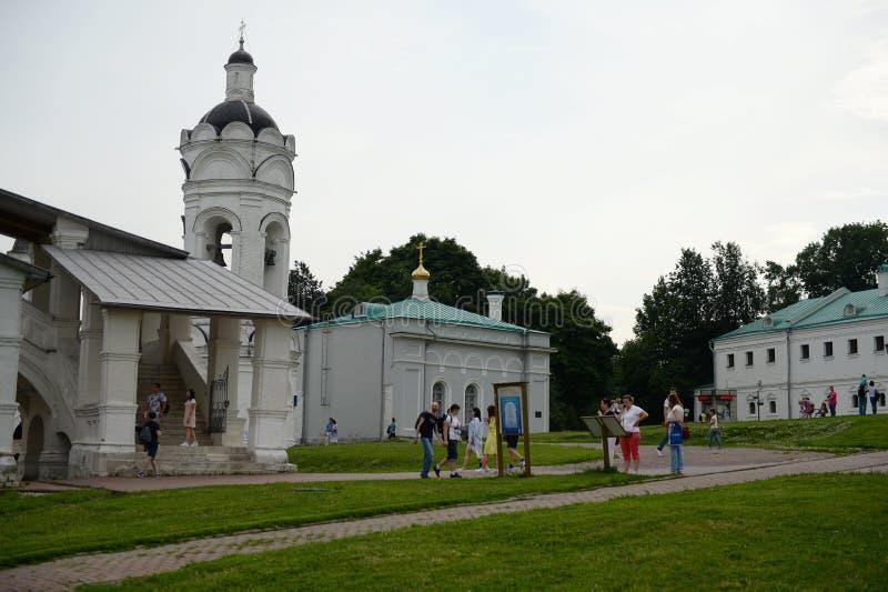 Ensemble architectural du domaine de Moscou du tsar dans Kolomenskoye photos stock