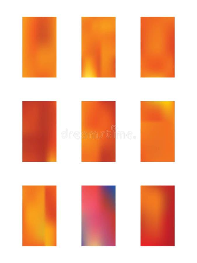 Ensemble color? de milieux illustration libre de droits