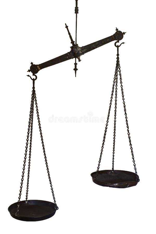 Ensemble d'échelles s'arrêtantes d'équilibre photos libres de droits