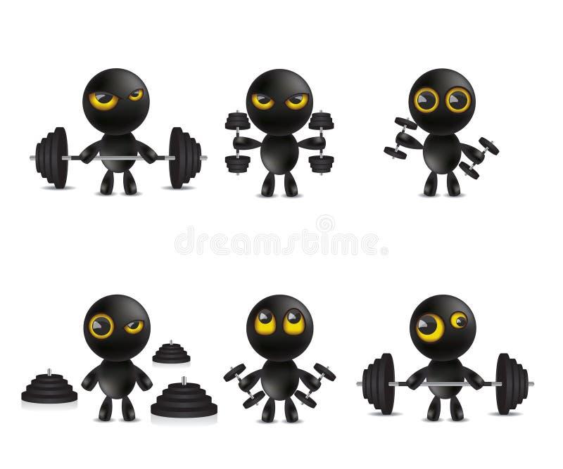 Ensemble d 39 motic ne de personnages de dessin anim avec - Dessin avec emoticone ...