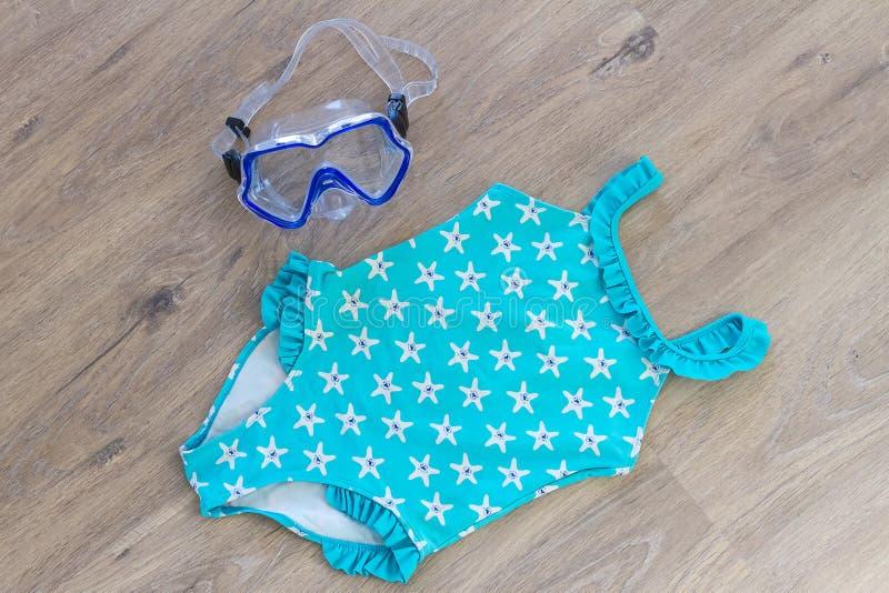 Ensemble d'accessoires de plage photo stock