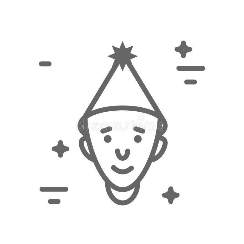 Ensemble d'icône d'astronomie illustration stock