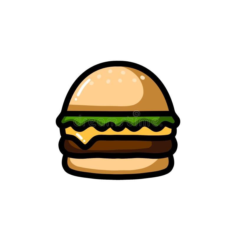 Ensemble d'icône de couleur de réactions d'émoticône d'Emoji illustration stock