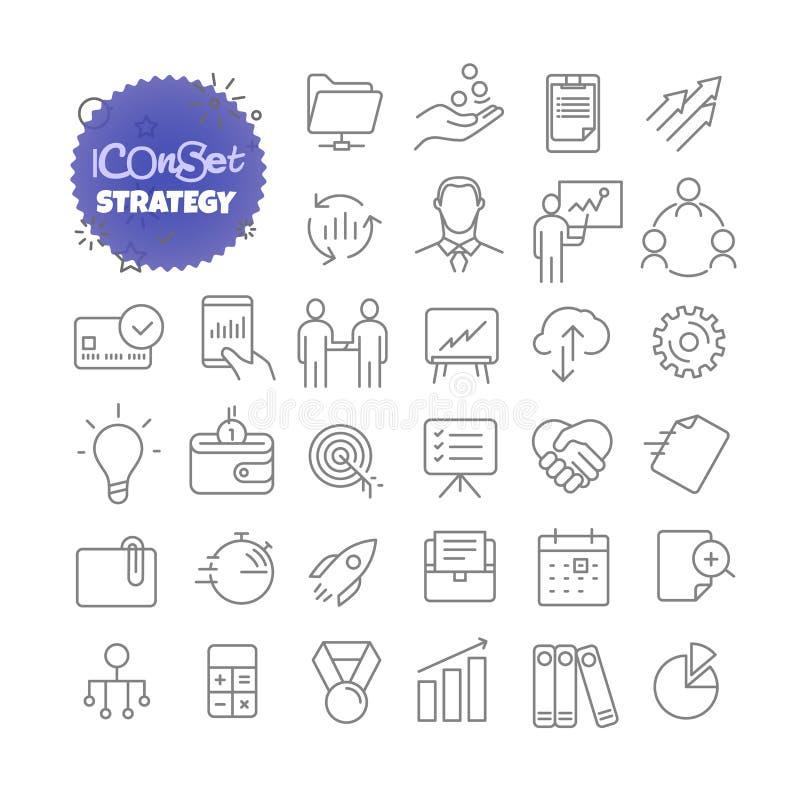 Ensemble d'icône d'ensemble Ensemble de pictogramme de vecteur illustration de vecteur