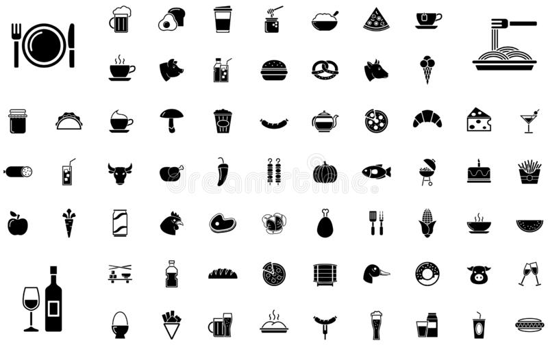 Ensemble d'icône de religion illustration libre de droits