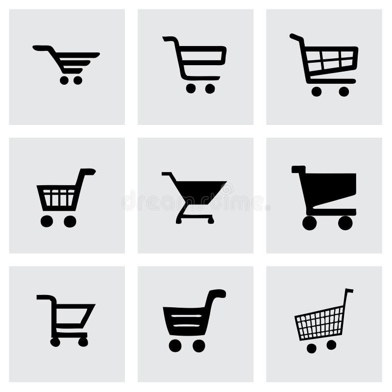 Ensemble d'icône d'achats de vecteur illustration de vecteur