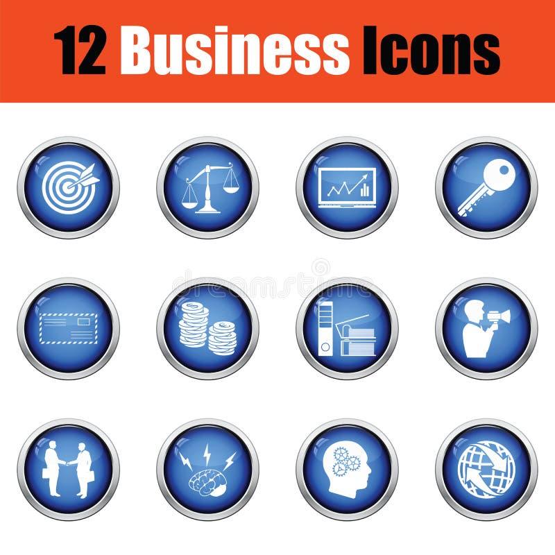 Download Ensemble D'icône D'affaires Illustration de Vecteur - Illustration du conférence, businessman: 77157460
