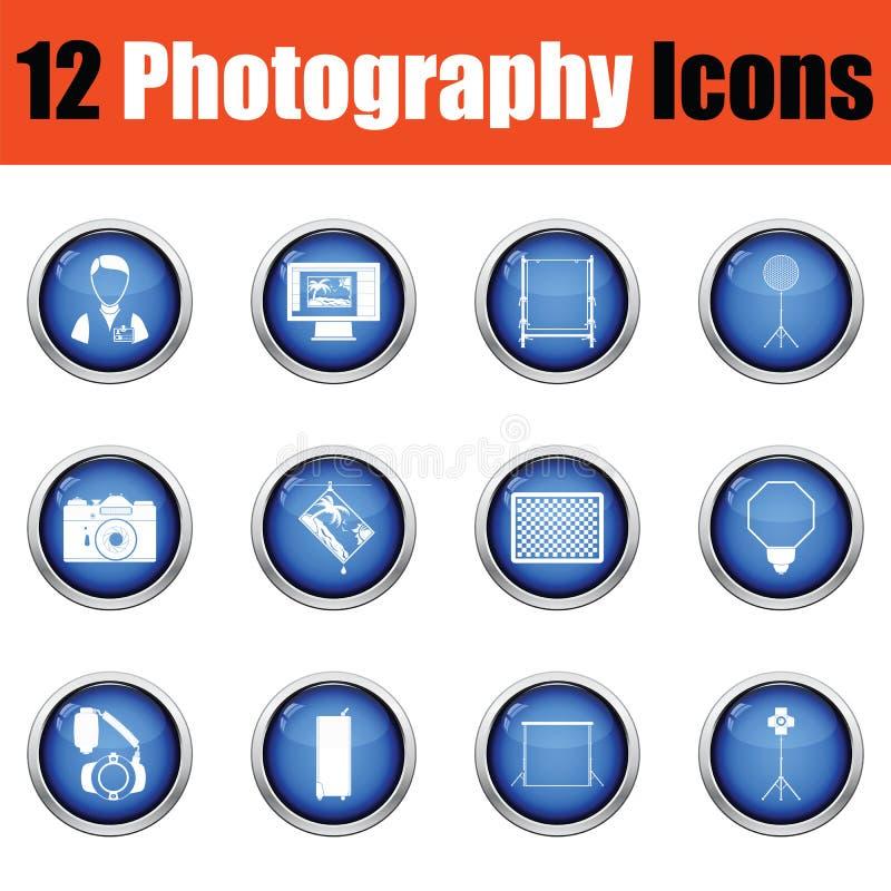 Download Ensemble D'icône De Photographie Illustration de Vecteur - Illustration du matrice, torche: 77157919