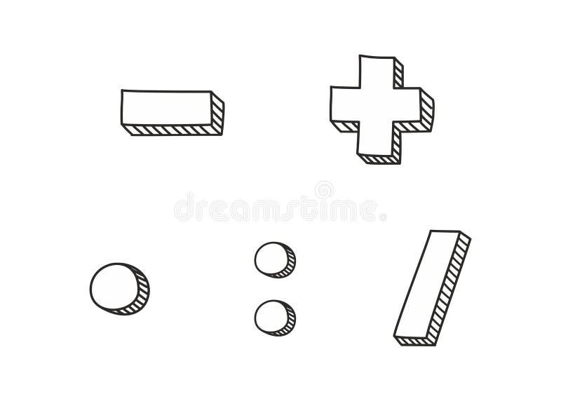 Ensemble d'icône de vecteur d'isolement sur le fond blanc illustration de vecteur