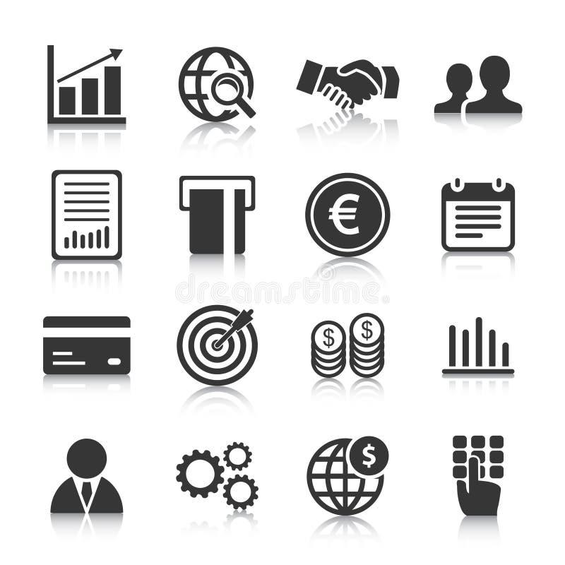Ensemble d'icônes d'affaires, de gestion et de ressources humaines Illustration de vecteur illustration de vecteur