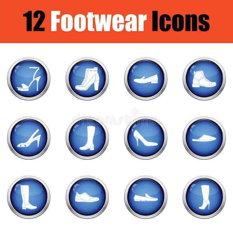 Download Ensemble D'icônes De Chaussures Illustration Stock - Illustration du mode, fond: 77159731