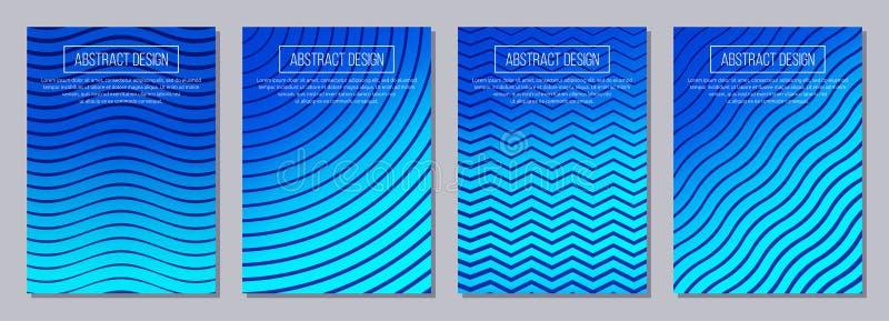 Ensemble d'insecte, affiches, bannières, plaquettes, templa de conception de brochure illustration de vecteur