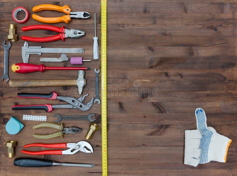 Ensemble d'outils photo stock