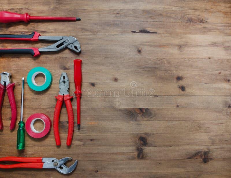 Ensemble d'outils photos stock