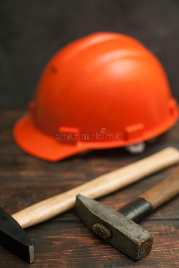 Ensemble d'outils de construction et de réparation photo libre de droits