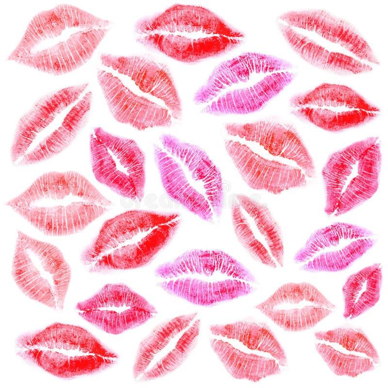Ensemble de belle marque de rouge à lèvres photo stock