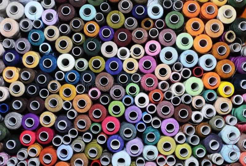 Ensemble de bobines image stock