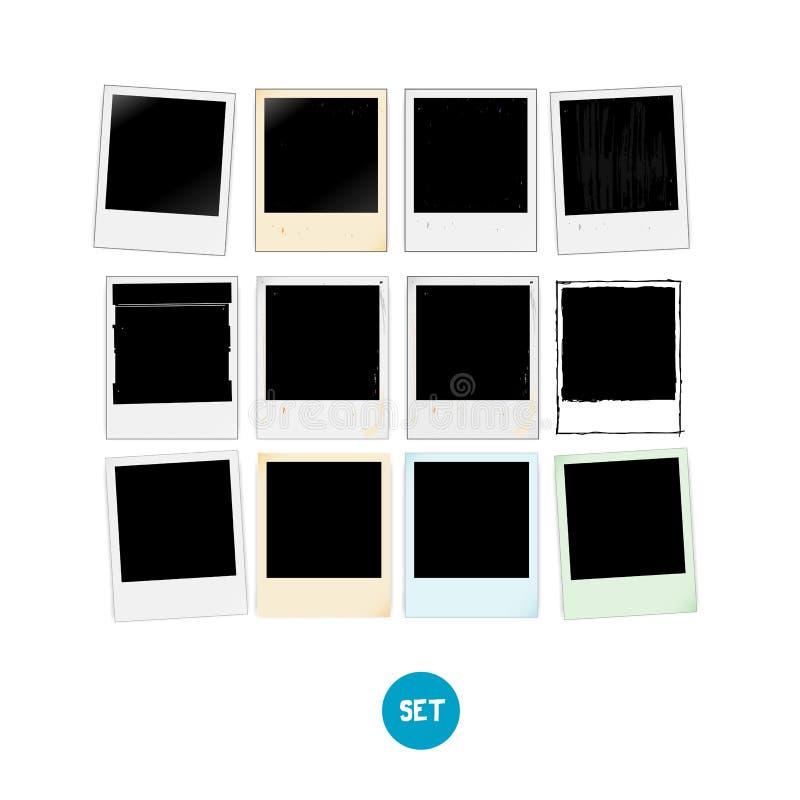 Ensemble de cadre de photo de vintage illustration libre de droits