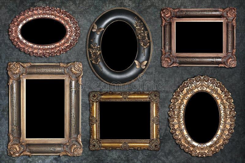 ensemble de cadres antiques photo stock image du photographie l gance 39314182. Black Bedroom Furniture Sets. Home Design Ideas