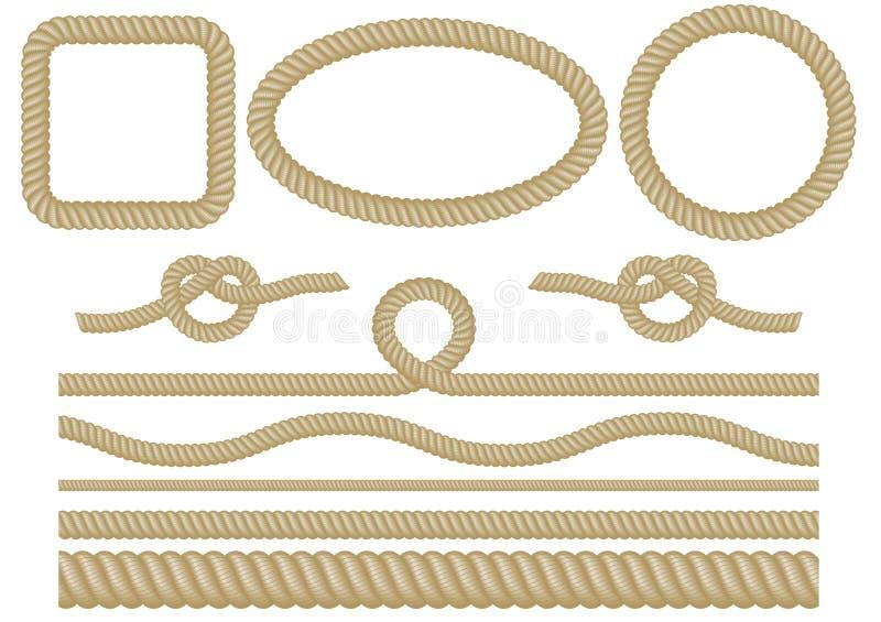 Ensemble de corde illustration libre de droits
