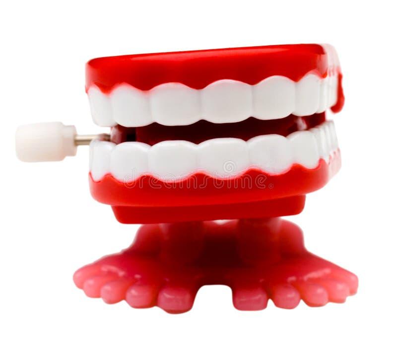 Ensemble de dentiers photo stock