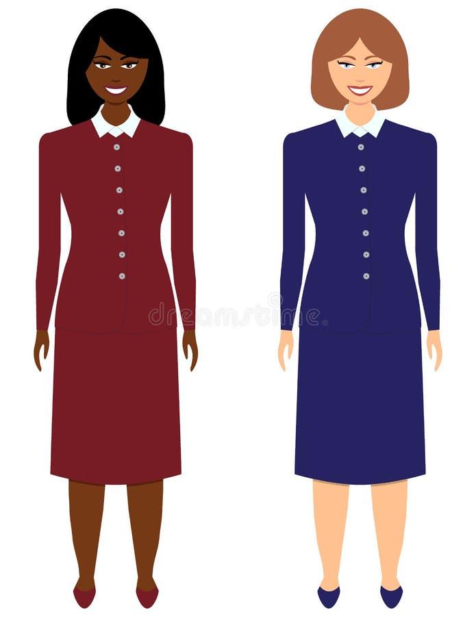 Ensemble de femmes d'affaires photos libres de droits