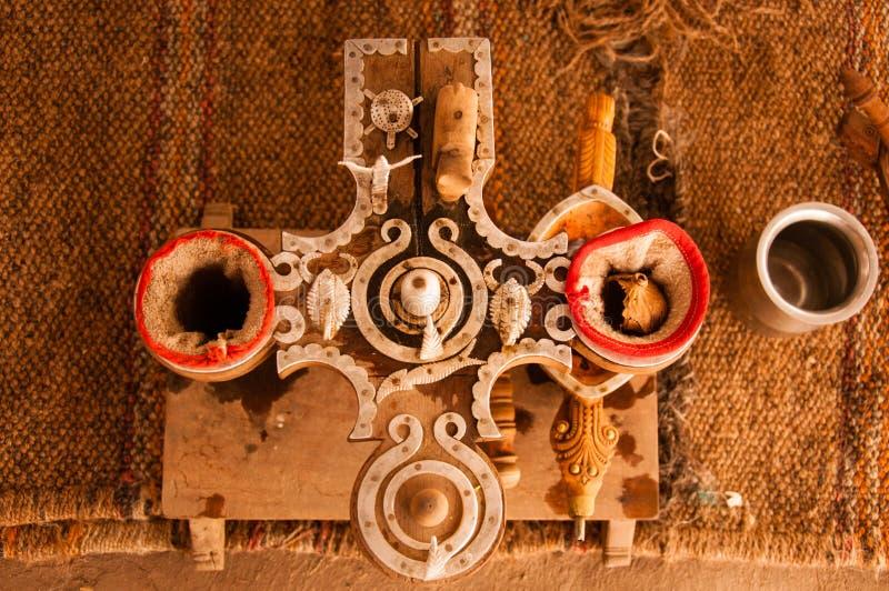 Ensemble de filtrage d'opium chez Bishnoi photo libre de droits