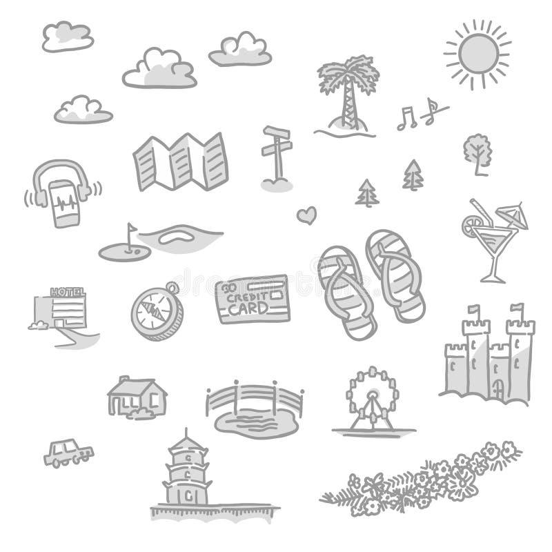 Ensemble de graphismes de course illustration de vecteur