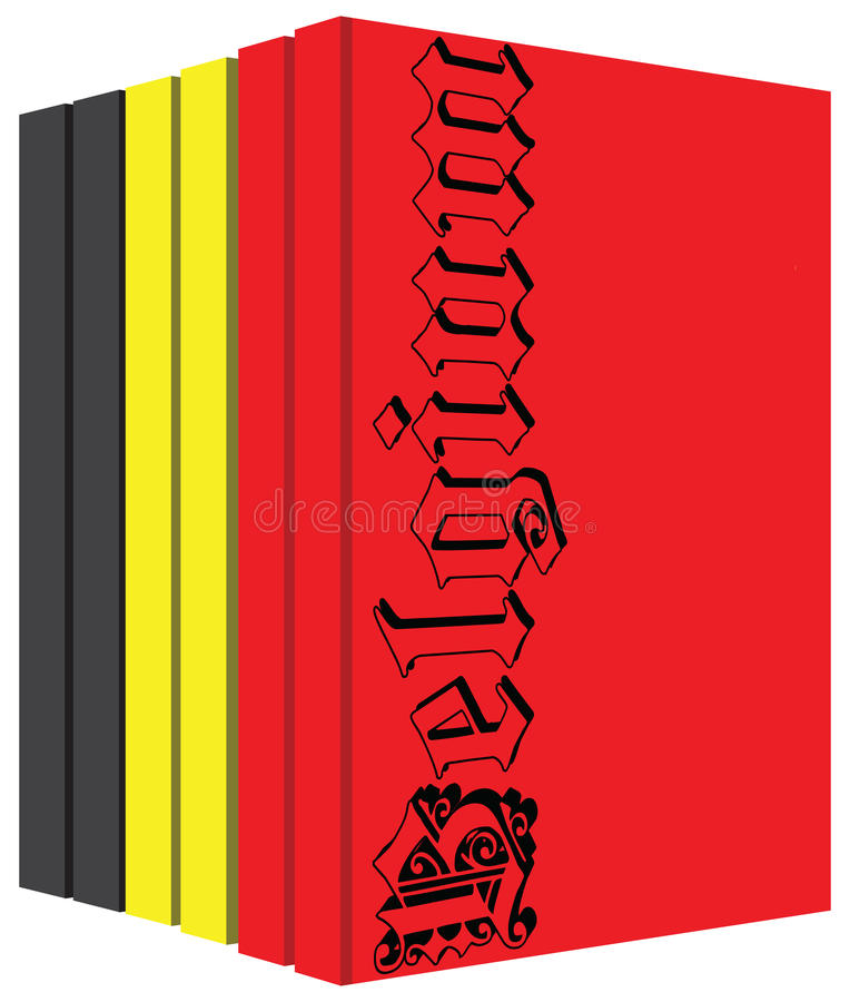 Download Ensemble De Livres Concernant La Belgique Illustration de Vecteur - Illustration du histoire, cahier: 87706914