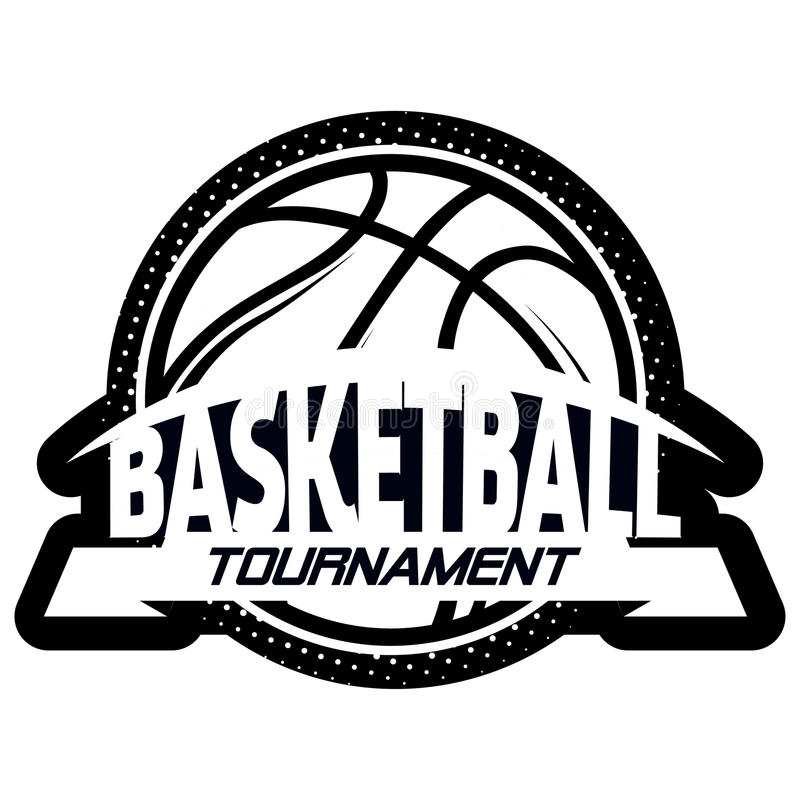 Ensemble de logo de Streetball illustration de vecteur