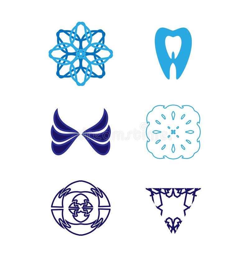 Ensemble de logo de vecteur illustration libre de droits
