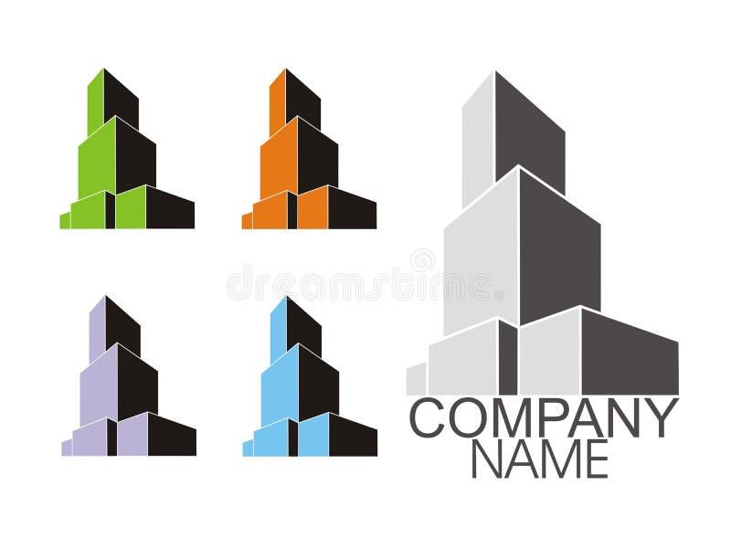 Ensemble de logos illustration stock
