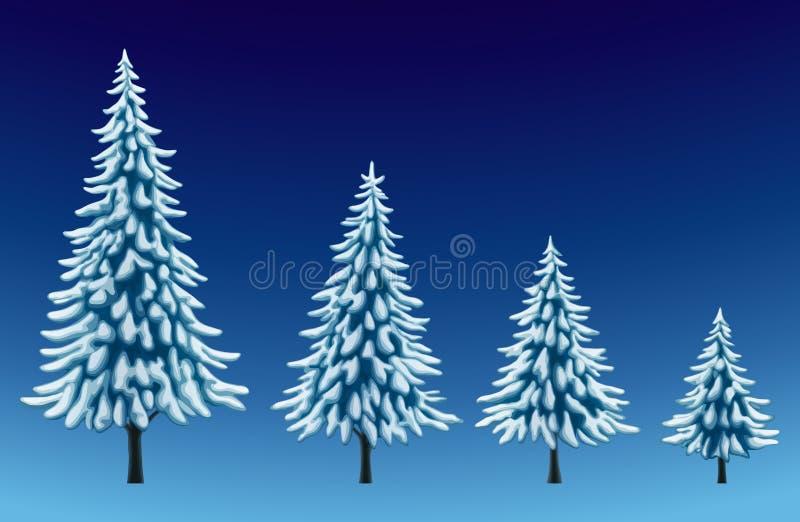 Ensemble de pins illustration stock