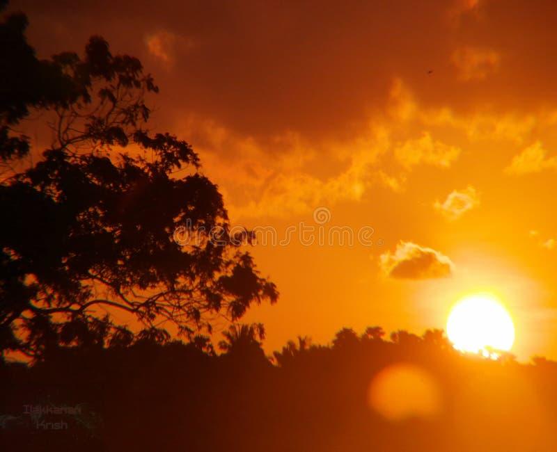 Ensemble de Sun et hausse du soleil photo libre de droits
